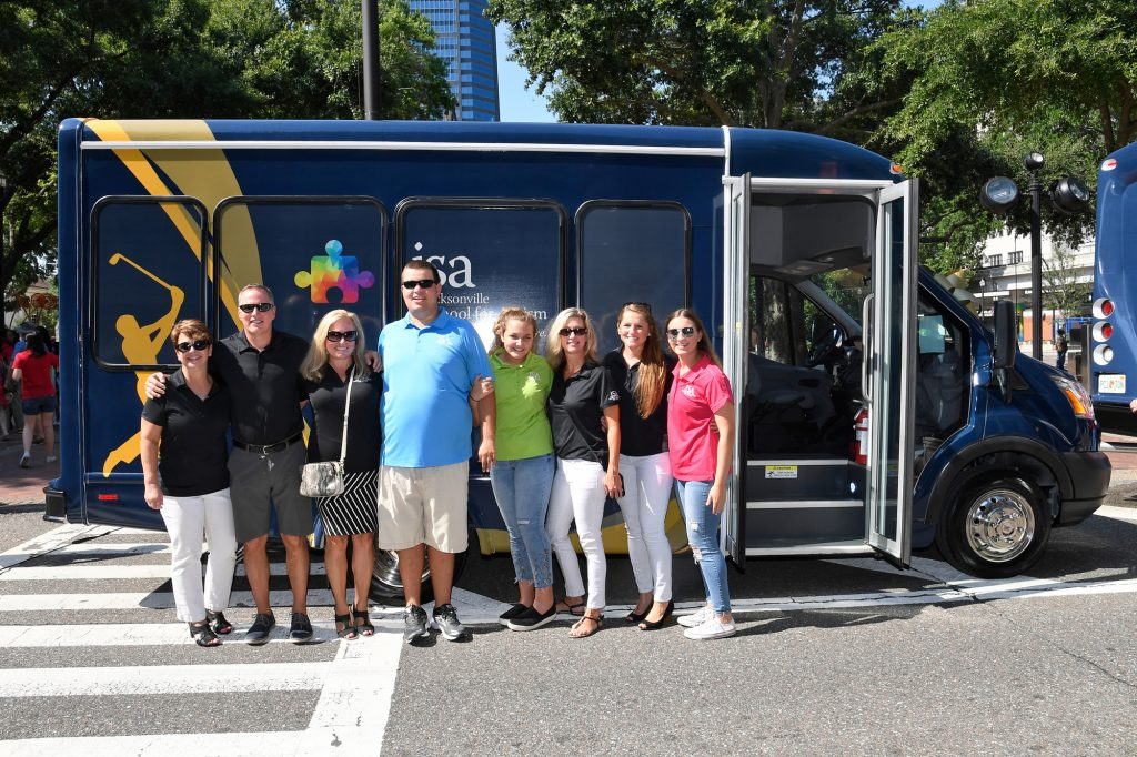 Jacksonville School for Autism Bus - Provided by THE PLAYERS